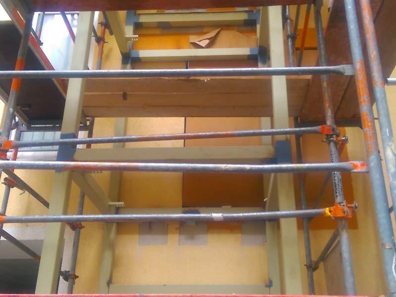Erstellung Fahrstuhlschacht 2