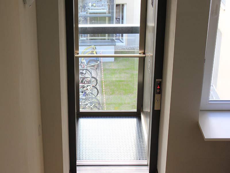 Erstellung Fahrstuhl 8