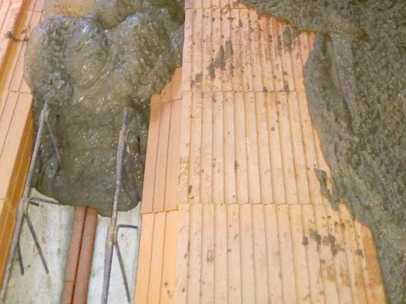 Brunnenstr. 13 Einbau Ziegeleinhangdecke