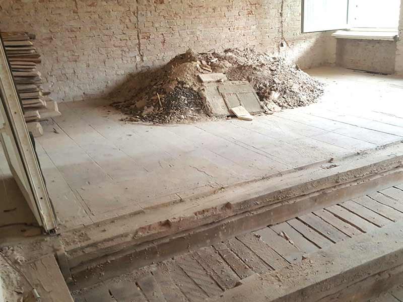 Brunnenstr. 13 Abbrucharbeiten