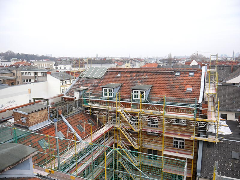 Dachgeschoss und Ausbau,2. und 3. QB
